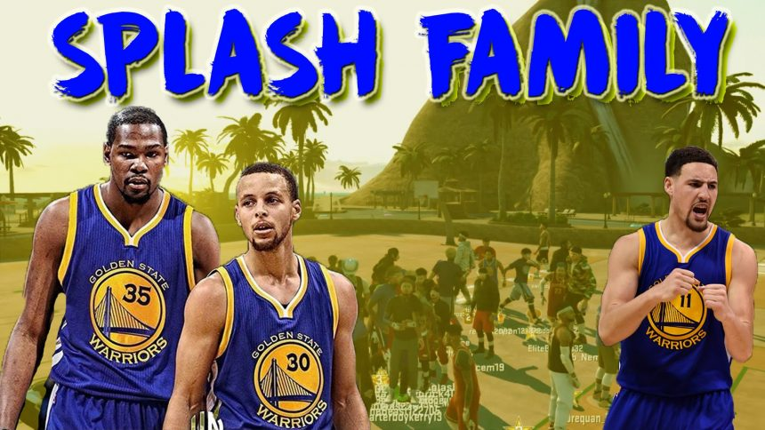 ebc3455c3693 Klay Thompson   Kevin Durant now being called the Splash Family ( 18  Straight 3 Pointers made )